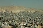 Damascus skyline and the Jebel