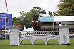 Stamford, Lincolnshire, United Kingdom, 8th September 2019, Alicia Hawker (GB) & Charles RR during the Show Jumping Phase on Day 4 of the 2019 Land Rover Burghley Horse Trials, Credit: Jonathan Clarke/JPC Images