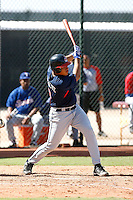 Alex Monsalve - Cleveland Indians 2009 Instructional League. .Photo by:  Bill Mitchell/Four Seam Images..