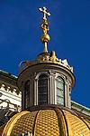 Kopula katedry wawelskiej w Krakowie<br /> Gold dome of Wawel Cathedral in Cracow, Poland