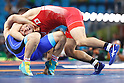 Tomohiro Inoue (JPN), <br /> AUGUST 16, 2016 - Wrestling : <br /> Men's Greco-Roman 66kg Qualification <br /> at Carioca Arena 2 <br /> during the Rio 2016 Olympic Games in Rio de Janeiro, Brazil. <br /> (Photo by Sho Tamura/AFLO SPORT)