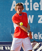 04-09-13,Netherlands, Alphen aan den Rijn,  TEAN, Tennis, Tean International Tennis Tournament 2013, Tean International ,  Wesley Koolhof (NED) <br /> Photo: Henk Koster