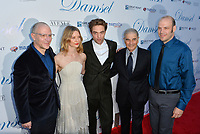 """David Zellner, Mia Wasikowska, Robert Pattinson, Robert Forster & Nathan Zellner at the premiere for """"Damsel"""" at the Arclight Hollywood, Los Angeles, USA 13 June 2018<br /> Picture: Paul Smith/Featureflash/SilverHub 0208 004 5359 sales@silverhubmedia.com"""