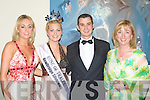 ..MEETING: Meeting the Rose of Tralee 2008 at the Rose Ball in Fels Foint pre Rose Ba;ll Reception on Friday night. l-r: Caroline White, Aoife Kelly (Rose of Tralee 2008) Gerry Thompson and Mallam Quigley.....