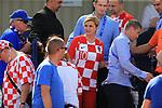 08.06.2019., stadium Gradski vrt, Osijek - UEFA Euro 2020 Qualifying, Group E, Croatia vs. Wales. President Kolinda Grabar-Kitarovic. <br /> <br /> Foto © nordphoto / Davor Javorovic/PIXSELL