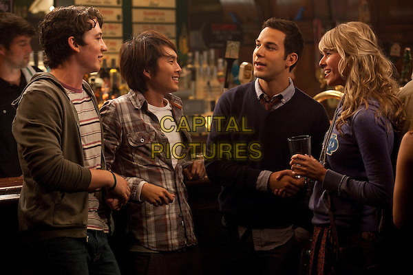 MYLES TELLER, JUSTIN CHON, SKYLAR ASTIN & SARAH WRIGHT.in 21 and Over (2013) .*Filmstill - Editorial Use Only*.CAP/NFS.Supplied by Capital Pictures.