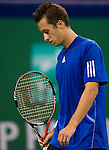 SHANGHAI, CHINA - OCTOBER 12:  Philipp Kohlschreiber of Germany reacts after loosing a point against Andy Roddick of USA during day two of the 2010 Shanghai Rolex Masters at the Shanghai Qi Zhong Tennis Center on October 12, 2010 in Shanghai, China.  (Photo by Victor Fraile/The Power of Sport Images) *** Local Caption *** Philipp Kohlschreiber