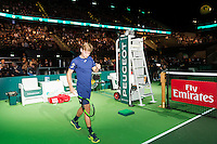 ABN AMRO World Tennis Tournament, Rotterdam, The Netherlands, 17 Februari, 2017, David Goffin (BEL)<br /> Photo: Henk Koster