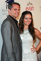 BEVERLY HILLS, CA, USA - OCTOBER 14: Scott Sveslosky, Danica McKellar arrives at the 20th Annual Fulfillment Fund Stars Benefit Gala held at The Beverly Hilton Hotel on October 14, 2014 in Beverly Hills, California, United States. (Photo by David Acosta/Celebrity Monitor)