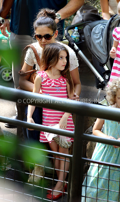 WWW.ACEPIXS.COM . . . . .  ....July 11 2012, New York City....Actress Katie Holmes took her daughter Suri Cruise to Central Park Zoo on July 11 2012 in New York City....Please byline: NANCY RIVERA- ACEPIXS.COM.... *** ***..Ace Pictures, Inc:  ..Tel: 646 769 0430..e-mail: info@acepixs.com..web: http://www.acepixs.com