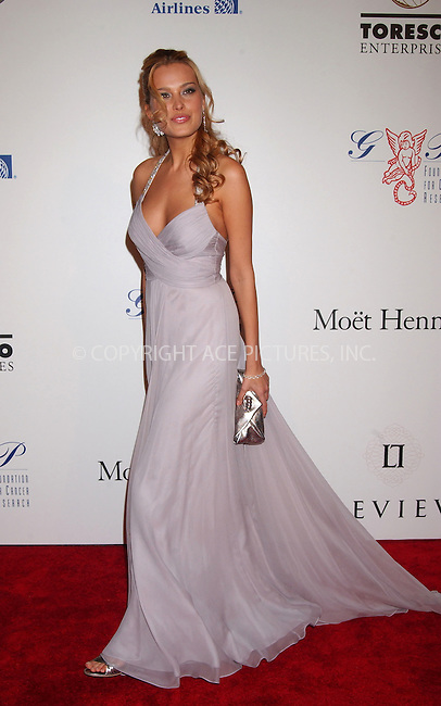 WWW.ACEPIXS.COM . . . . . ....October 29 2007, New York City....Model Petra Nemcova arriving at the 2007 Angel Ball sponsored by LEVIEV to benefit the G&P Foundation for Cancer Research at the Marriott Marquis hotel in midtown Manhattan....Please byline: KRISTIN CALLAHAN - ACEPIXS.COM.. . . . . . ..Ace Pictures, Inc:  ..(646) 769 0430..e-mail: info@acepixs.com..web: http://www.acepixs.com