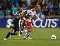 March 10th, 2013: San Jose Earthquakes vs New York Red Bulls soccer match at Buck Shaw Stadium, Santa Clara, Ca.   Earthquakes defeated Red Bulls 2-1