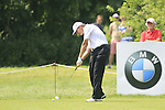 Paul Lawrie tees off on the 4th tee during Day 3 of The BMW International Open Munich at Eichenried Golf Club, 26th June 2010 (Photo by Eoin Clarke/GOLFFILE).