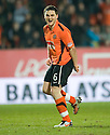 :: DUNDEE UTD'S CRAIG CONWAY CELEBRATES AFTER HE SCORES THE SECOND ::