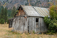Old Building in the Mehtow Valley, Washington
