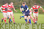 Tralee Kieran Crowley in action at O'Dowd park, Tralee on Sunday.