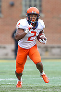 College Park, MD - October 27, 2018: Illinois Fighting Illini running back Reggie Corbin (2) in action during the game between Illinois and Maryland at  Capital One Field at Maryland Stadium in College Park, MD.  (Photo by Elliott Brown/Media Images International)