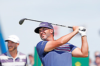 Scott Piercy (USA) tees off on the first hole during the third round of the 118th U.S. Open Championship at Shinnecock Hills Golf Club in Southampton, NY, USA. 16th June 2018.<br /> Picture: Golffile | Brian Spurlock<br /> <br /> <br /> All photo usage must carry mandatory copyright credit (&copy; Golffile | Brian Spurlock)