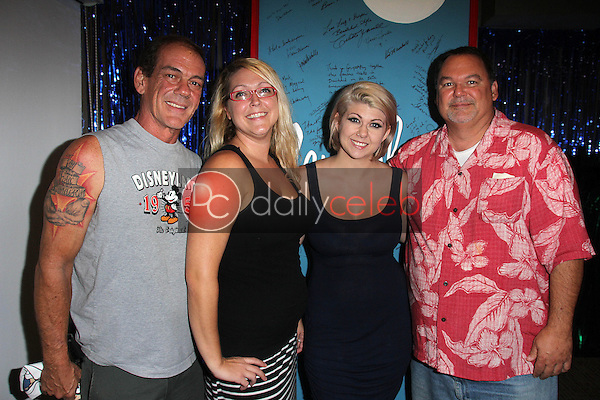 Matthew York, Christopher York and daughters Haylee York and Ashley Samantha York<br />