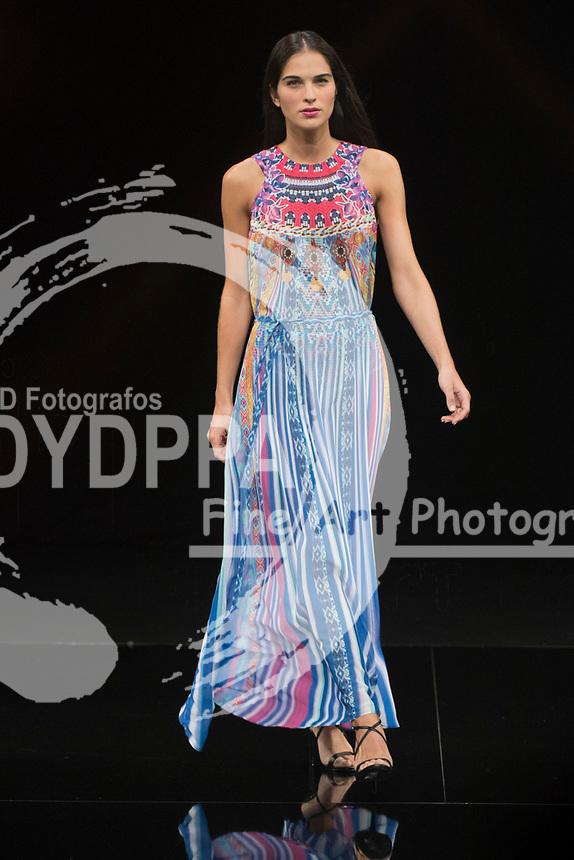 Model Marina Garcia poses