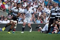 Twickenham, England, 27th May 2018. Quilter Cup, Rugby, Baa Baa's, Joe TEKORI, during the England vs Barbarians, Rugby Match at the RFU. Stadium, Twickenham. UK.  <br /> <br /> &copy; Peter Spurrier/Alamy Live News