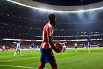 Thomas Lemar of Atletico de Madrid during the La Liga match between Atletico de Madrid and Athletic Club de Bilbao at Wanda Metropolitano Stadium in Madrid, Spain. October 26, 2019. (ALTERPHOTOS/A. Perez Meca)