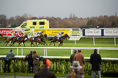 National Hunt meeting at Doncaster racecourse.