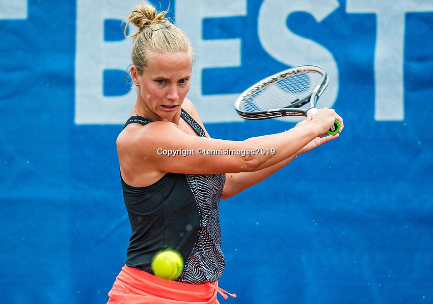 Zandvoort, Netherlands, 8 June, 2019, Tennis, Play-Offs Competition, Richel Hogenkamp (NED)<br /> Photo: Henk Koster/tennisimages.com