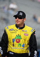 Nov. 13, 2009; Avondale, AZ, USA; NASCAR Camping World Truck Series driver Johnny Sauter during qualifying prior to the Lucas Oil 150 at Phoenix International Raceway. Mandatory Credit: Mark J. Rebilas-