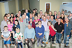 Fab Fifty<br /> -----------<br /> Michelle Cahill, Spa Rd, Tralee ( front centre ) had a super night at her home celebrating her 50th birthday surrounded by many friends and family.