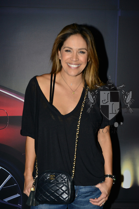 MIAMI, FL - OCTOBER 24: Karla Martinez is seen arriving to the Ricky Martin concert at American Airlines Arena on Saturday October 24, 2015 in Miami, Florida.  ( Photo by Johnny Louis / jlnphotography.com )