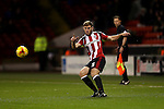Jack O'Connell of Sheffield Utd during the English League One match at Bramall Lane Stadium, Sheffield. Picture date: November 29th, 2016. Pic Simon Bellis/Sportimage