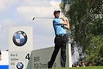 Soren Hansen teeing off from the 4th.during round two of the BMW PGA championship 2010 at Wentworth golf club, Surrey England..Picture Fran Caffrey/Newsfile.ie