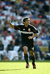 24 April 2004: Jamie Moreno calls for the ball in the first half. The Chicago Fire defeated DC United 1-0 at RFK Stadium in Washington, DC on opening day of the regular season in a Major League Soccer game..