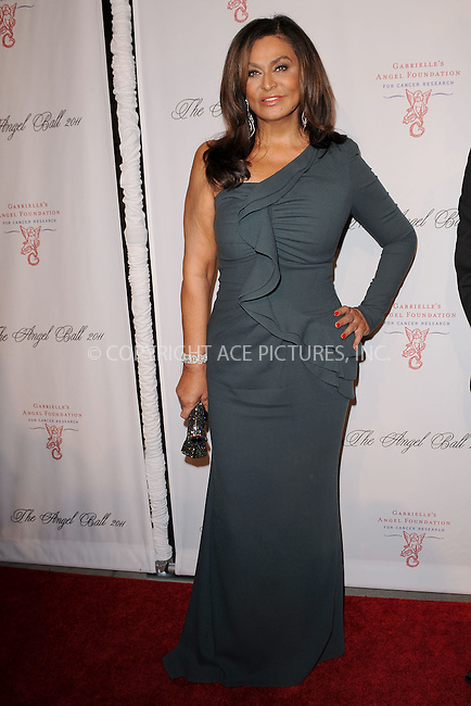 WWW.ACEPIXS.COM . . . . . .October 17, 2011...New York City...Tina Knowles attends the 2011 Angel Ball To Benefit Gabrielle's Angel Foundation at Cipriani Wall Street on October 17, 2011 in New York City.....Please byline: KRISTIN CALLAHAN - ACEPIXS.COM.. . . . . . ..Ace Pictures, Inc: ..tel: (212) 243 8787 or (646) 769 0430..e-mail: info@acepixs.com..web: http://www.acepixs.com .