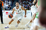 Real Madrid Facundo Campazzo during Turkish Airlines Euroleague match between Real Madrid and Kirolbet Baskonia at Wizink Center in Madrid, Spain. October 19, 2018. (ALTERPHOTOS/Borja B.Hojas)