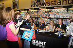 """Days Of Our Lives - Kristian Alfonso, Melissa Reeves,  Drake Hogestyn and Greg Meng (co-executive producer and author of this book) meet the fans as they sign """"Days Of Our Lives Better Living"""" on September 27, 2013 at Books-A-Million in Nashville, Tennessee. (Photo by Sue Coflin/Max Photos)"""