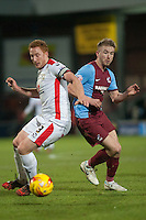 Paddy Madden of Scunthorpe Utd<br />  - Scunthorpe United vs MK Dons - Sky Bet League One Football at Glanford Park, Scunthorpe, Lincolnshire - 27/01/15 - MANDATORY CREDIT: Mark Hodsman/TGSPHOTO - Self billing applies where appropriate - contact@tgsphoto.co.uk - NO UNPAID USE