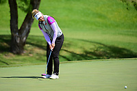 Brooke M. Henderson (CAN) watches her putt on 12 during round 1 of  the Volunteers of America Texas Shootout Presented by JTBC, at the Las Colinas Country Club in Irving, Texas, USA. 4/27/2017.<br /> Picture: Golffile | Ken Murray<br /> <br /> <br /> All photo usage must carry mandatory copyright credit (&copy; Golffile | Ken Murray)