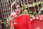 Nieves Alvarez opened the first Campari Red Suite. June 10, 2015. (ALTERPHOTOS/Acero)