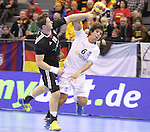 15.01.2013 Granollers, Spain. IHF men's world championship, prelimanary round. Picture show Diego Simonet    in action during game between Germany v Argentina at Palau d'esports de Granollers