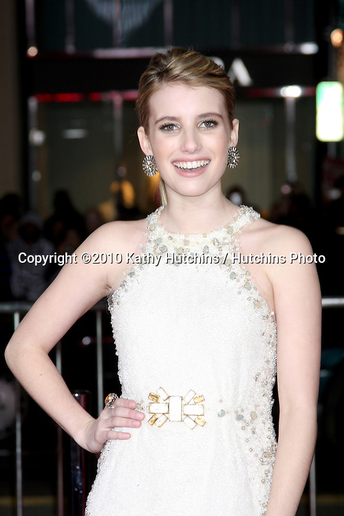 Emma Roberts.arrivng at the Valentine's Day World Premiere.Grauman's Chinese Theater.Los Angeles, CA.February 8, 2010.©2010 Kathy Hutchins / Hutchins Photo....