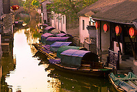 China-Jiangsu Province-Suzhou Changzhou & Water towns