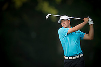 American, Jordan Spieth, in action during the opening round of the US PGA Championship at Valhalla (Photo: Anthony Powter) Picture: Anthony Powter / www.golffile.ie