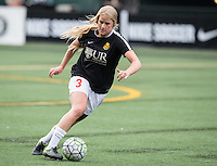 Seattle, WA - Saturday July 16, 2016: Makenzy Doniak prior to a regular season National Women's Soccer League (NWSL) match between the Seattle Reign FC and the Western New York Flash at Memorial Stadium.