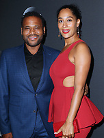 www.acepixs.com<br /> <br /> May 16 2017, New York City<br /> <br /> Tracee Ellis Ross and Anthony Anderson arriving at the 2017 ABC Upfront on May 16, 2017 in New York City. <br /> <br /> By Line: Nancy Rivera/ACE Pictures<br /> <br /> <br /> ACE Pictures Inc<br /> Tel: 6467670430<br /> Email: info@acepixs.com<br /> www.acepixs.com
