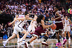 DALLAS, TX - MARCH 31:  Kia Nurse #11 of the Connecticut Huskies guards Morgan William #2 of the Mississippi State Lady Bulldogs during the 2017 Women's Final Four at American Airlines Center on March 31, 2017 in Dallas, Texas. (Photo by Justin Tafoya/NCAA Photos via Getty Images)