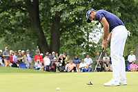 Charl Schwartzel (RSA) putts on the 2nd green during Sunday's Final Round of the WGC Bridgestone Invitational 2017 held at Firestone Country Club, Akron, USA. 6th August 2017.<br /> Picture: Eoin Clarke | Golffile<br /> <br /> <br /> All photos usage must carry mandatory copyright credit (&copy; Golffile | Eoin Clarke)