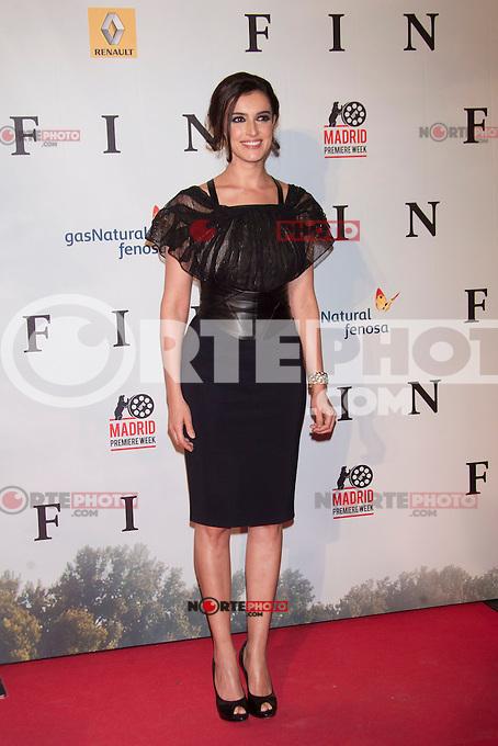 Blanca Romero attends 'FIN' Premiere at Callao Cinema in Madrid on november 20th 2012...Photo: Cesar Cebolla / ALFAQUI.. /Alter/NortePhoto