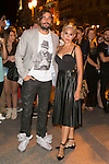 Alex Garcia and Veronica Echegui attends the party of Nike and Roberto Tisci at the Casino in Madrid, Spain. September 15, 2014. (ALTERPHOTOS/Carlos Dafonte)